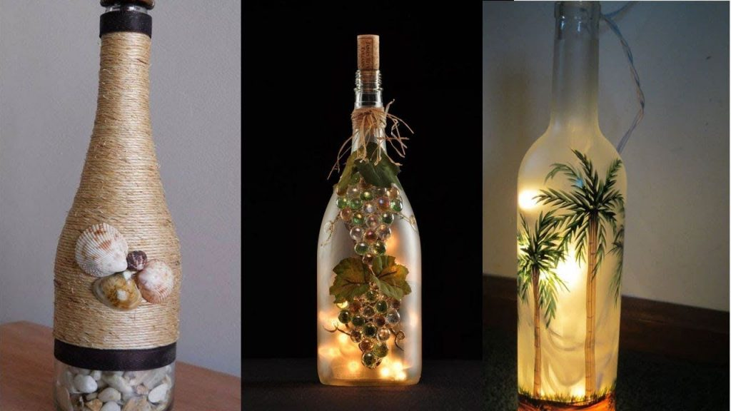bottle craft ideas wine bottle centerpieces decorative wine bottles empty wine bottle decoration ideas how to use glass bottles for decoration simple bottle decoration glass bottle wall ideas bottle decorations