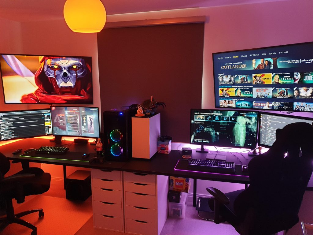 couples gaming setup his and her gaming setup couples gaming room setup couples gaming desk his and hers gaming setup couples gaming desk setup 2 person gaming setup gamer couple relationship goals gaming couple setup wedding gifts for gamer couples