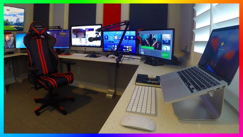 cheap and simple youtube studio setup youtube studio setup ideas youtube setup for beginners cheap youtube setup entire youtube studio setup on one desk my youtube setup
